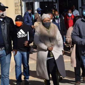 lesotho first lady sent back to prison for rival murder