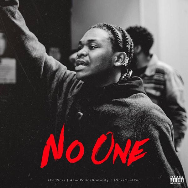 DOWNLOAD MP3: Dice Ailes – No One (#EndPoliceBrutality)