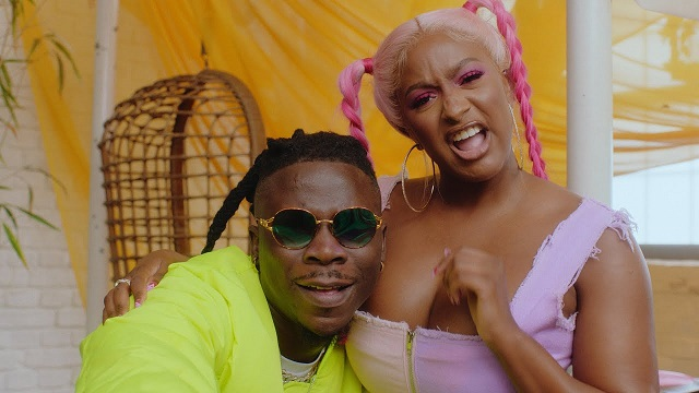 DOWNLOAD MP4: Cuppy – Karma ft. Stonebwoy [Video]