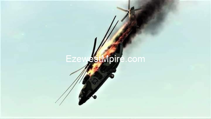 BREAKING NEWS: #ESN Shots Down #NAF Helicopter in Orlu, Imo State.