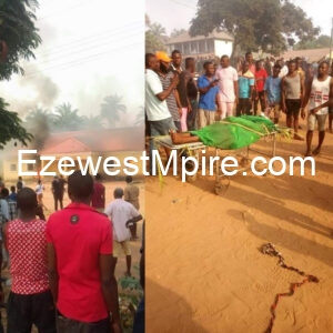 Eyewitnesses narrates the killing that lead the youths to burn a police station in Imo State