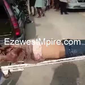 Dead body of a woman found in uncompleted building, head cut-off, blood drained in Delta State, Nigeria
