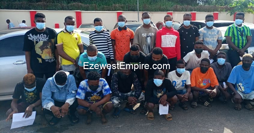34 suspected internet fraudsters arrested in Owo, Ondo State