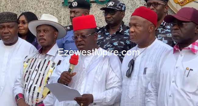Security Madness: South-East Governors Establish New Outfit Tagged 'EBUBE AGU'
