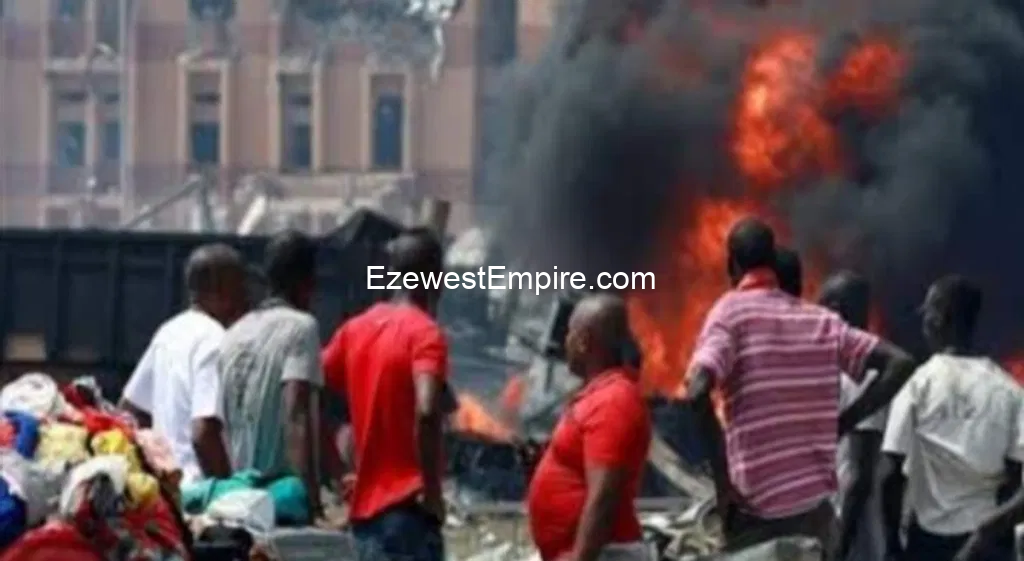 Disobedience of Sit-at-Home Order: Bomb explosion rocks Mile 3 Market Igweocha (a.k.a Port-Harcourt)