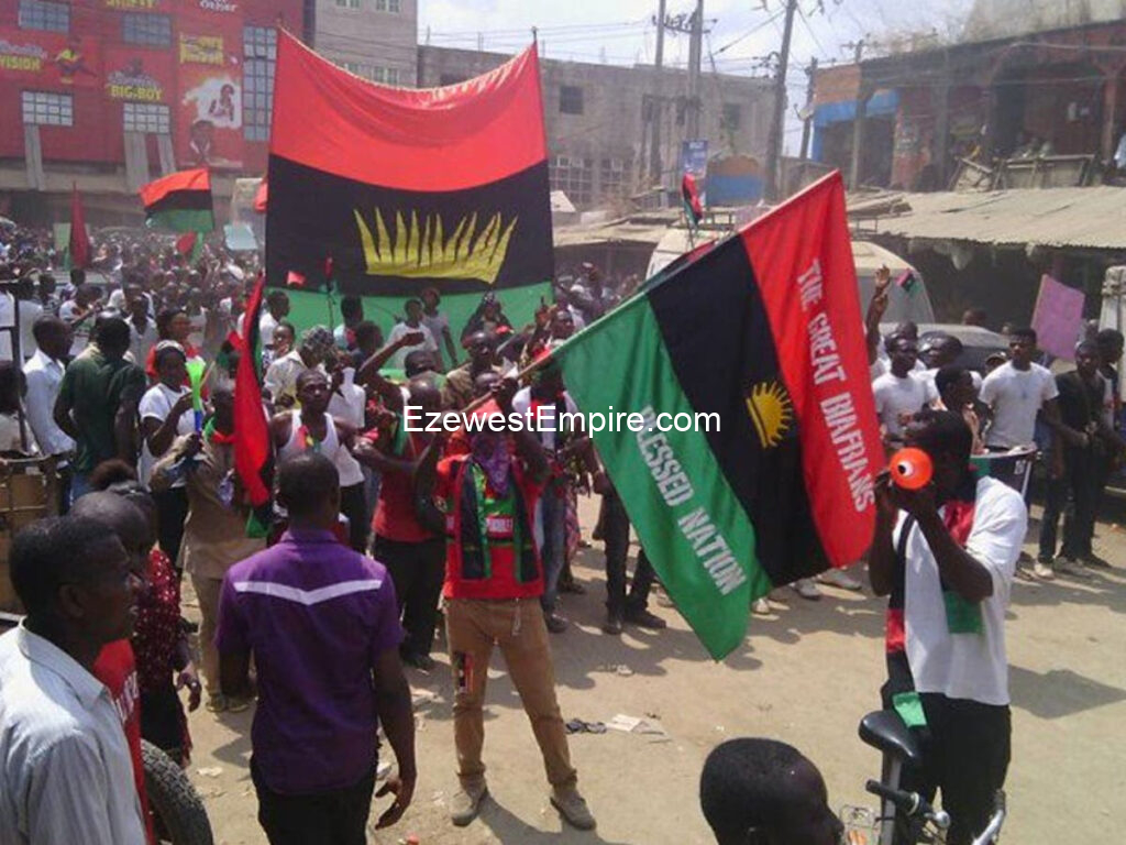 Biafra Land will be on lockdown every Monday till Nnamdi Kanu is freed - IPOB