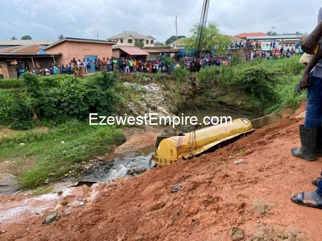 Oyo State Fuel Tanker kills 5 persons