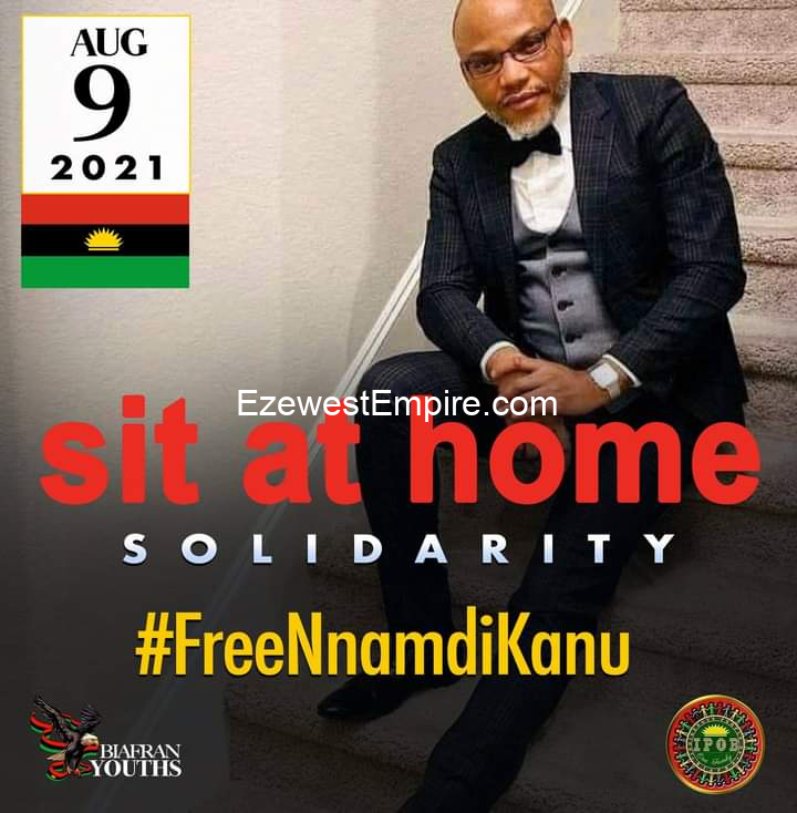 There is No going back on the Sit-At-Home Order - IPOB